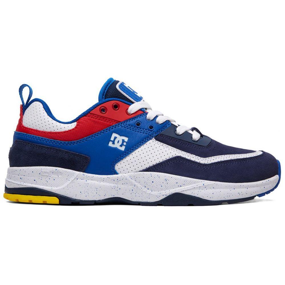 ディーシー DC メンズ スケートボード シューズ・靴【E.Tribeka SE Skate Shoes】Black/Blue/Red