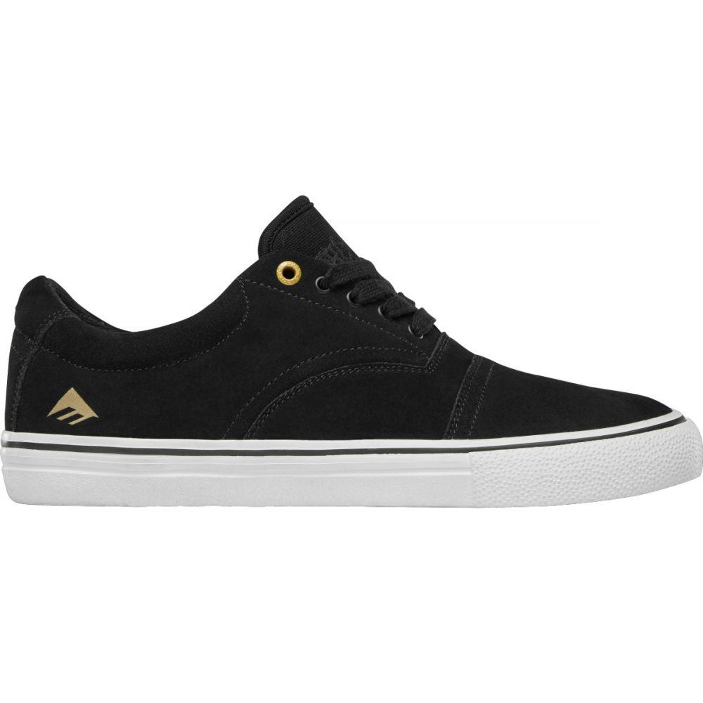 エメリカ Emerica メンズ スケートボード シューズ・靴【Provider Skate Shoes】Black/White/Gold