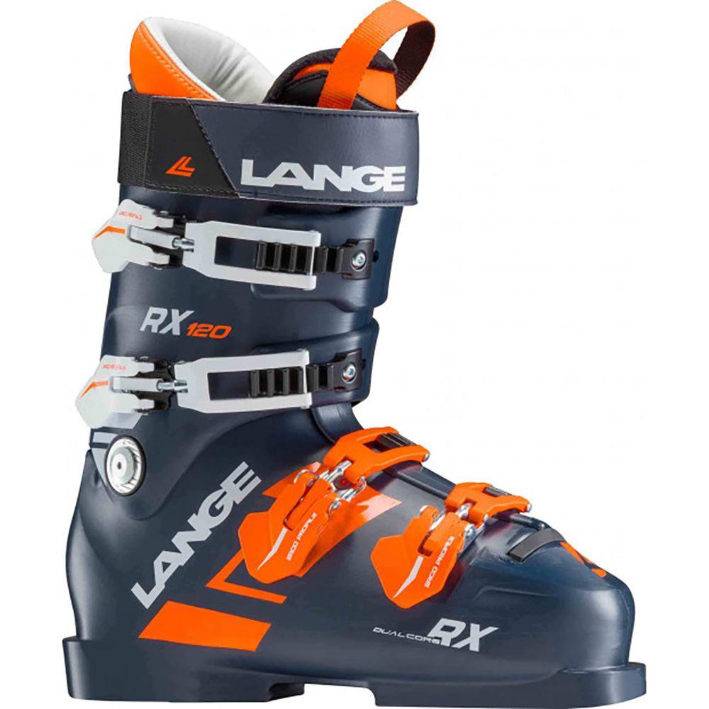 ランジェ Lange メンズ スキー・スノーボード シューズ・靴【RX 120 Ski Boots】Dark Blue/Orange