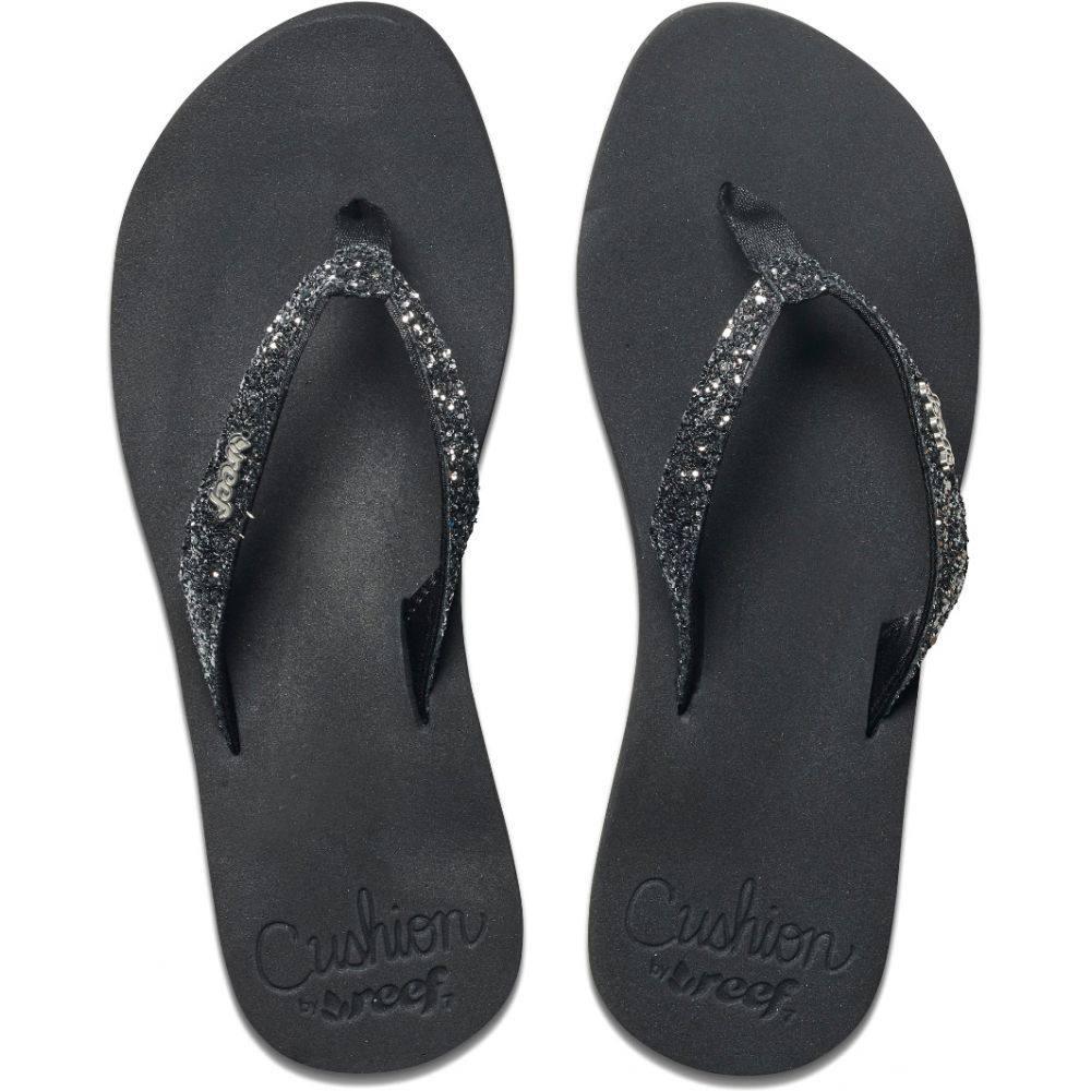 リーフ Reef レディース シューズ・靴 サンダル・ミュール【Star Cushion Sandals】Black/Gunmetal