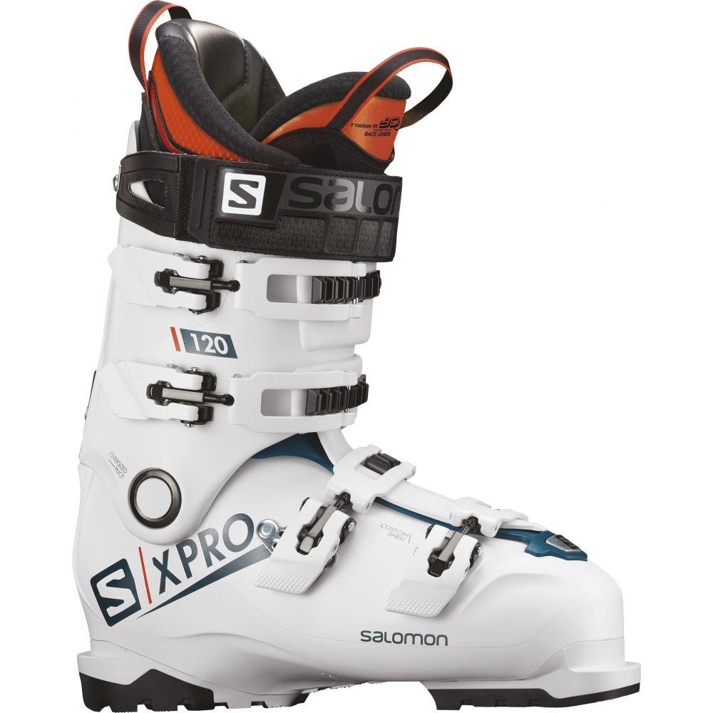 サロモン Salomon メンズ スキー・スノーボード シューズ・靴【X Pro 120 Ski Boots】White/Blue/Black
