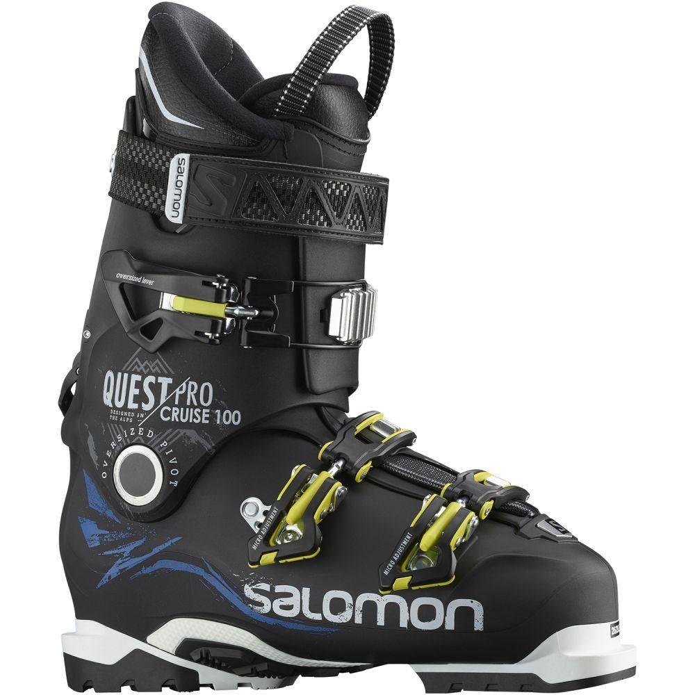 サロモン Salomon メンズ スキー・スノーボード シューズ・靴【Quest Pro Cruise 100 Ski Boots】Black/Indigo Blue/White