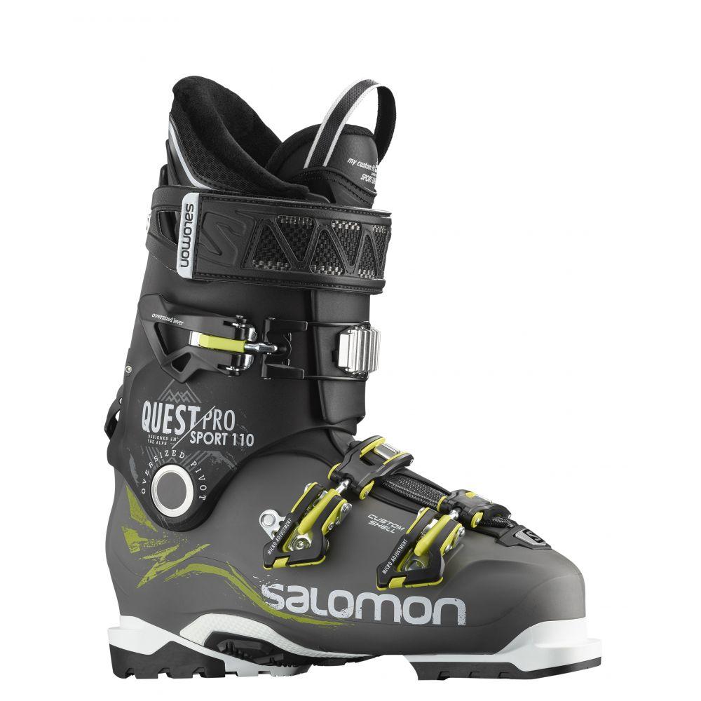 サロモン Salomon メンズ スキー・スノーボード シューズ・靴【Quest Pro CS Sport 110 Ski Boots】Anthracite/Black