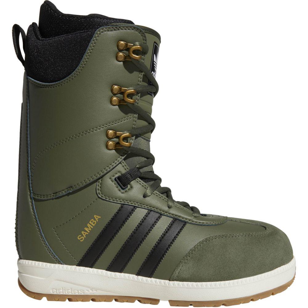 アディダス Adidas メンズ スキー・スノーボード シューズ・靴【Samba Adv Snowboard Boots】Base Green/Black/Off White
