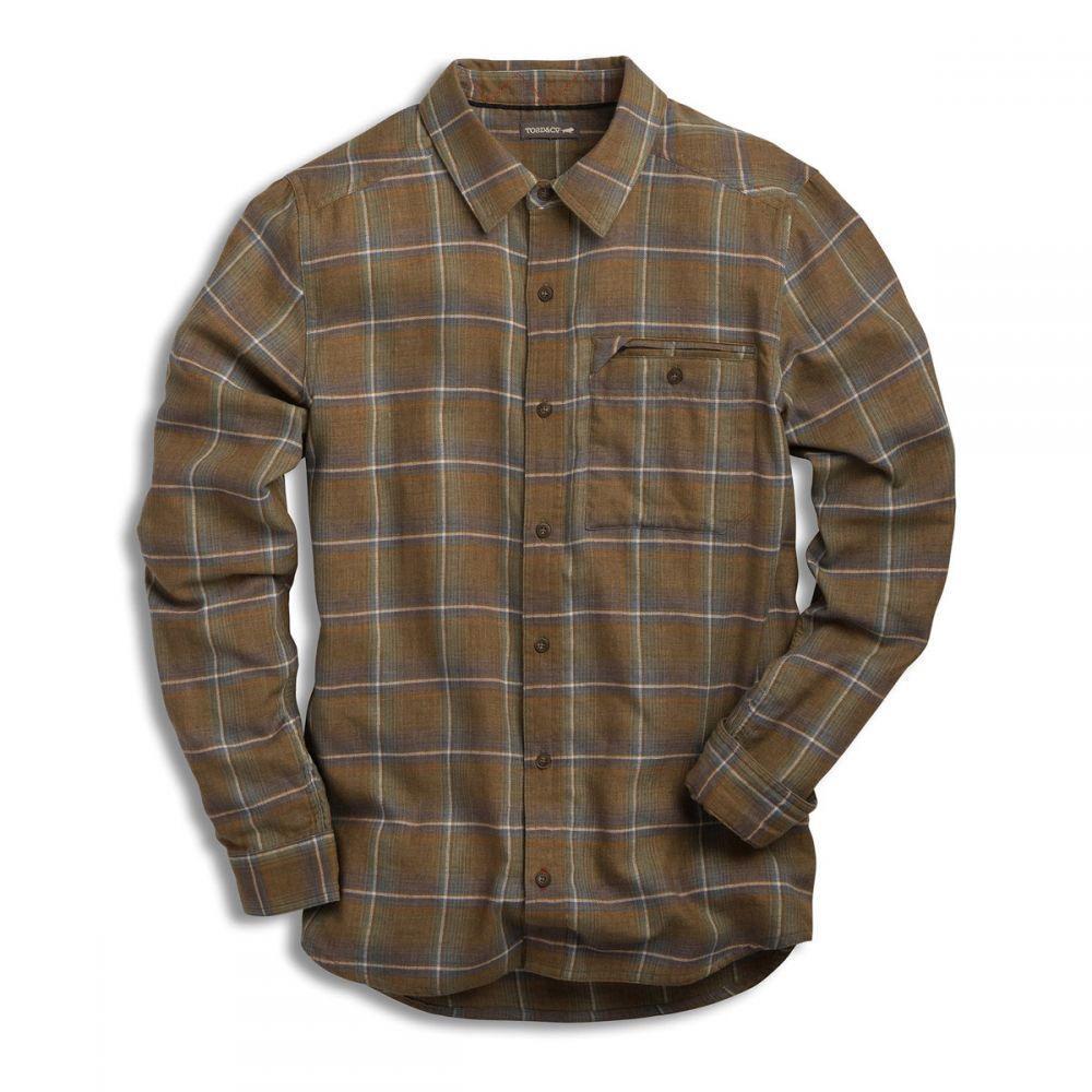 トードアンドコー Toad & Co メンズ トップス シャツ【Singlejack L/S Shirt】Rustic Olive