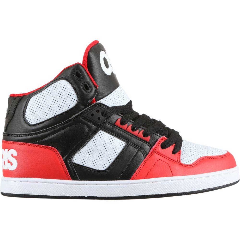 オサイラス Osiris メンズ スケートボード シューズ・靴【NYC 83 CLK Skate Shoes】Black/Red/White