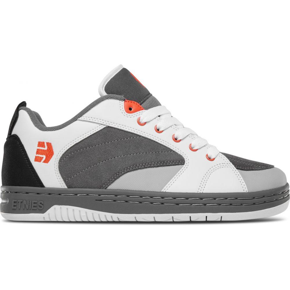エトニーズ Etnies メンズ スケートボード シューズ・靴【Czar Skate Shoes】Grey/White/Orange