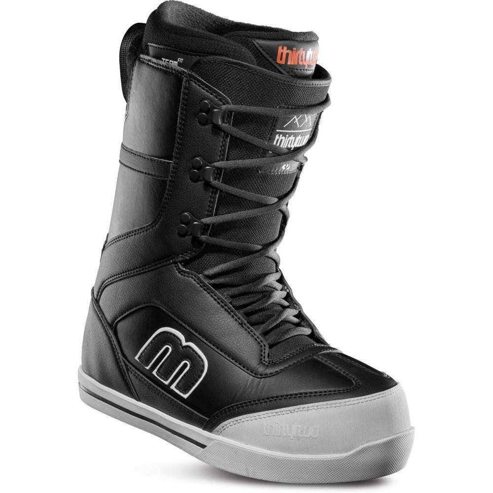 サーティーツー Thirty Two メンズ スキー・スノーボード シューズ・靴【32 - Lo-Cut Snowboard Boots】Black/White
