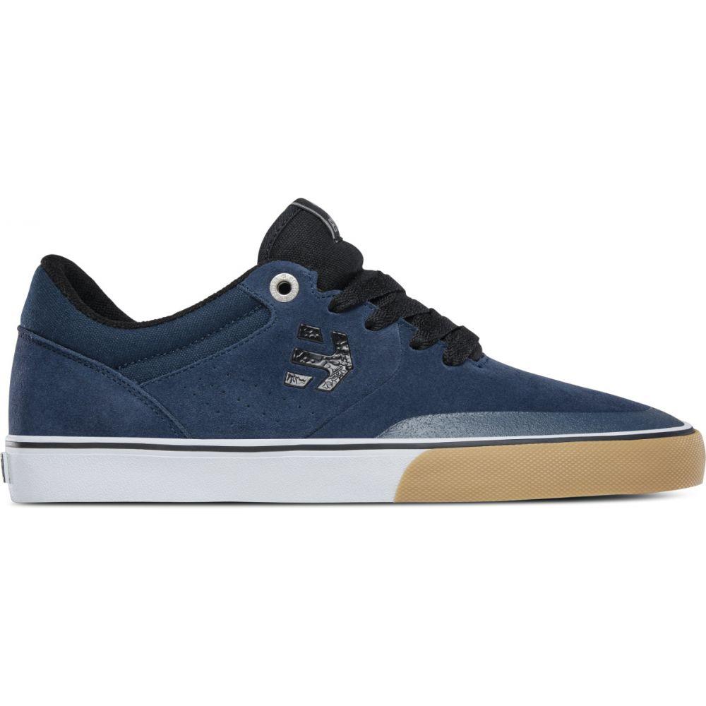 エトニーズ Etnies メンズ スケートボード シューズ・靴【Marana Vulc Skate Shoes】Navy/Black