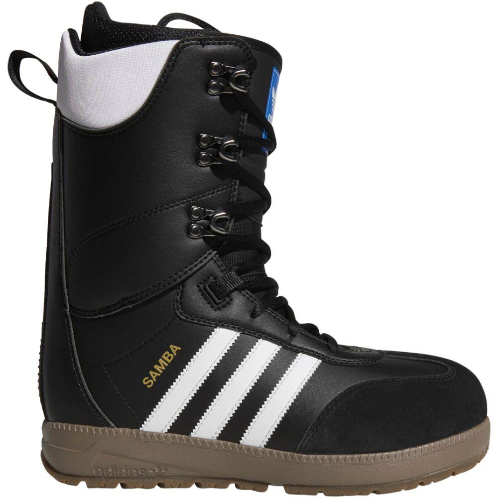 アディダス Adidas メンズ スキー・スノーボード シューズ・靴【Samba Adv Snowboard Boots】Black/White/White