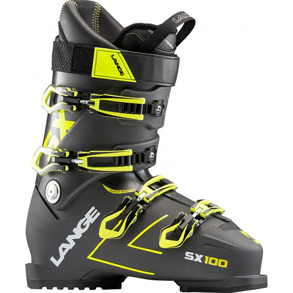 ランジェ Lange メンズ スキー・スノーボード シューズ・靴【SX 100 Ski Boots】Anthracite/Yellow