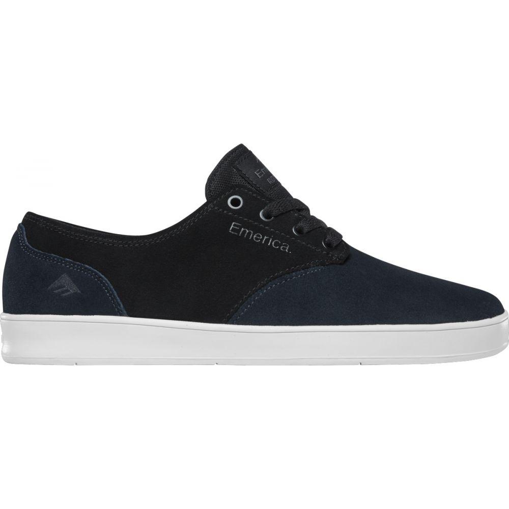 エメリカ Emerica メンズ スケートボード シューズ・靴【Romero Laced Skate Shoes】Navy/Black/Silver