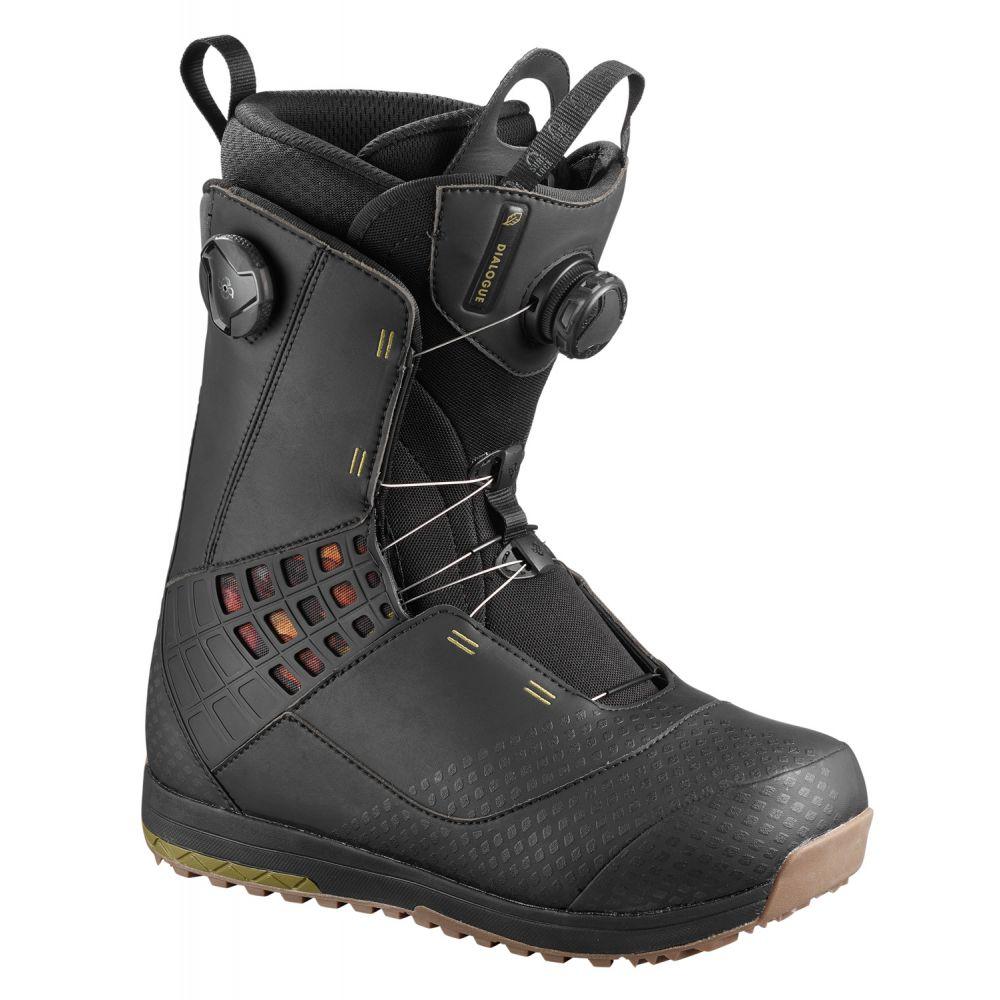 サロモン Salomon メンズ スキー・スノーボード シューズ・靴【Dialogue Focus BOA Wide Snowboard Boots】Black