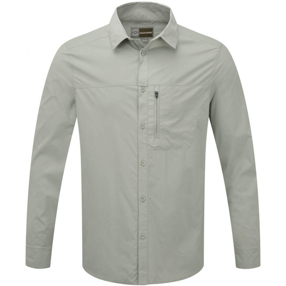 クラッグホッパーズ Craghoppers メンズ トップス【Insect Shield Pro L/S Shirt】Parchment