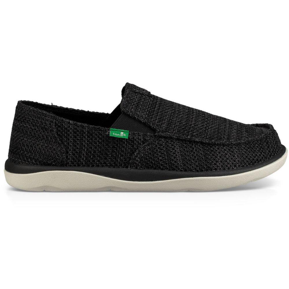 サヌーク Sanuk メンズ シューズ・靴 スニーカー【Vagabond Tripper Mesh Shoes】Black