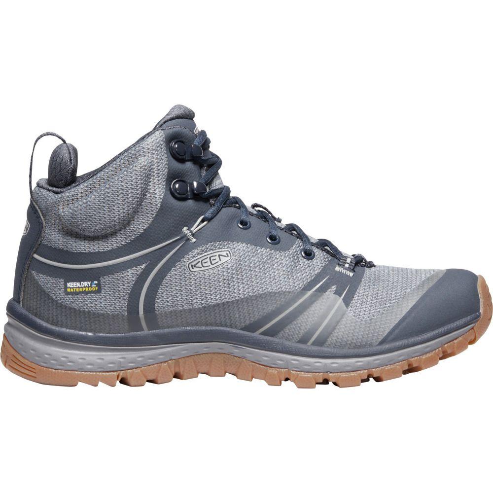 キーン Keen レディース ハイキング・登山 シューズ・靴【Terradora Mid WP Hiking Boots】Blue Nights/Blue Mirage