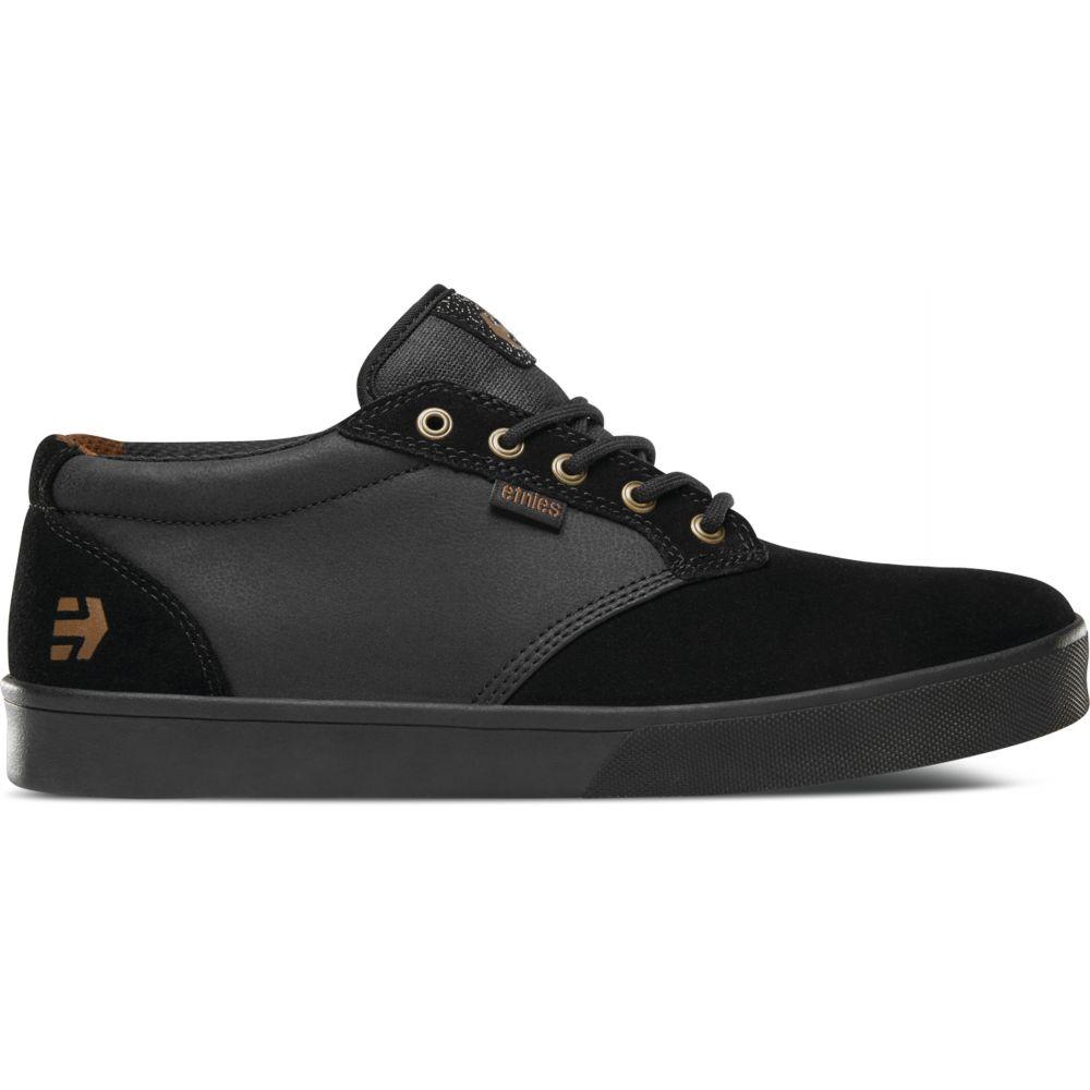 エトニーズ Etnies メンズ 自転車 シューズ・靴【Jameson Mid Crank Shoes】Black/Black