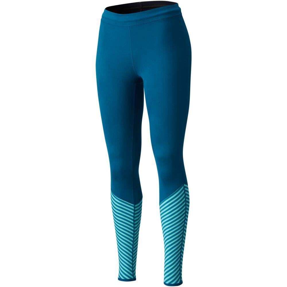 マウンテンハードウェア Mountain Hardwear レディース スキー・スノーボード ボトムス・パンツ【Butterlicous Stripe Tight Baselayer Pants】Dark River