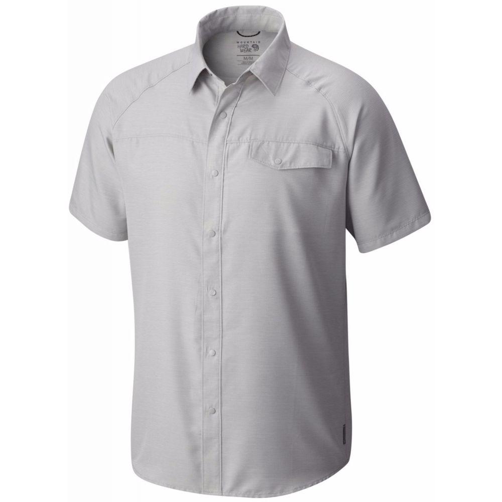 マウンテンハードウェア Mountain Hardwear メンズ トップス【Technician Shirt】Grey Ice