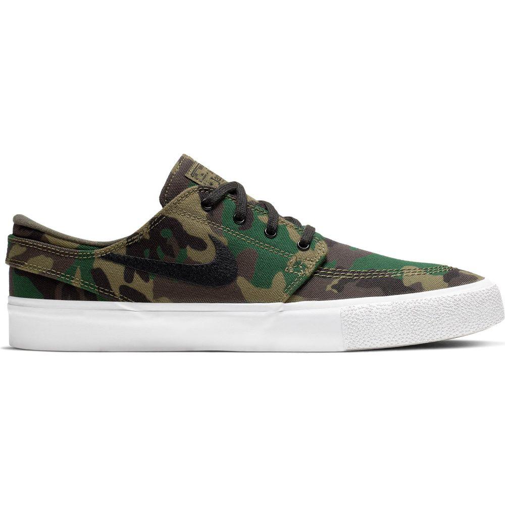 ナイキ Nike メンズ スケートボード シューズ・靴【SB Zoom Stefan Janoski Canvas Premium Skate Shoes】Iguana/Black/Sequoia/Gum Light Brown