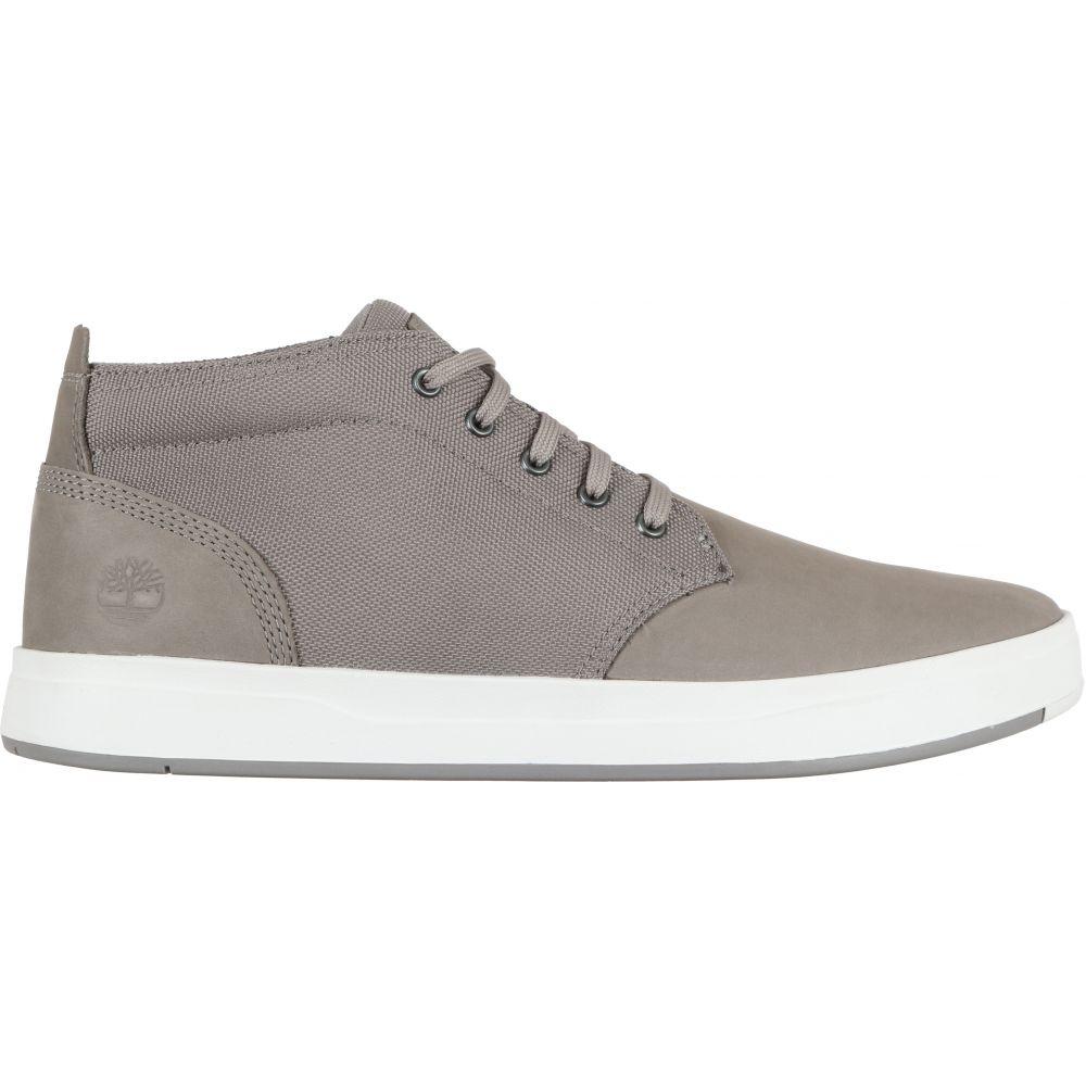 ティンバーランド Timberland メンズ シューズ・靴 スニーカー【Davis Square Chukka Shoes】Medium Grey Nubuck