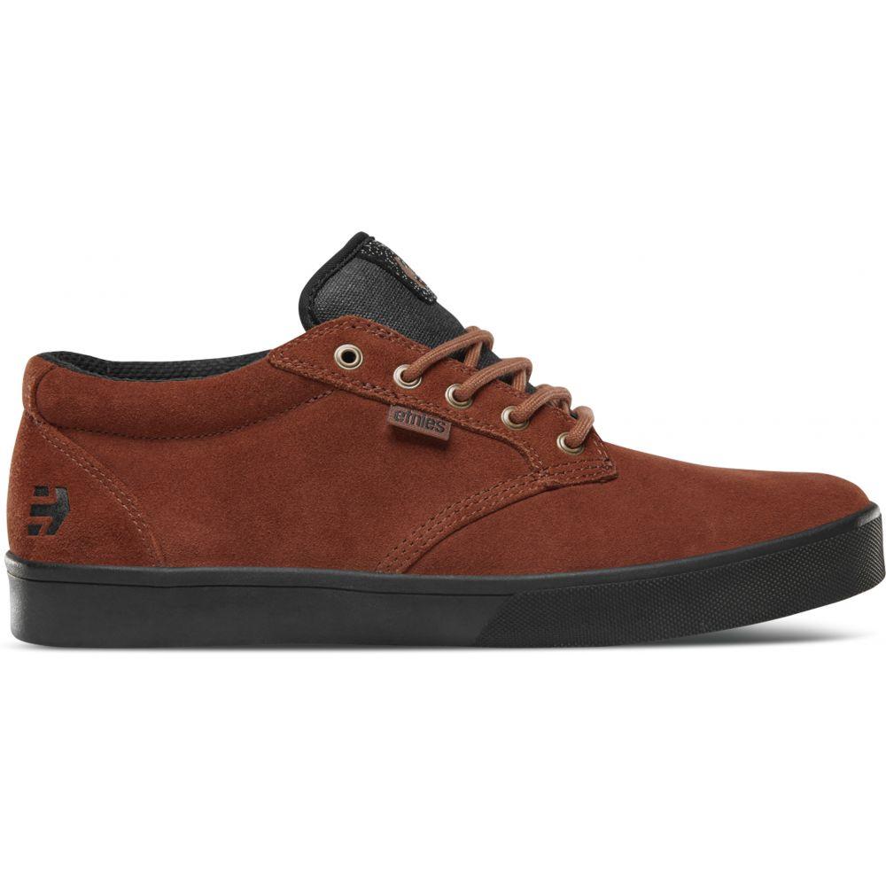 エトニーズ Etnies メンズ 自転車 シューズ・靴【Jameson Mid Crank Shoes】Brown/Black