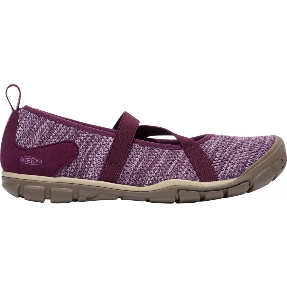 キーン Keen レディース シューズ・靴【Hush Knit Mary Jane Shoes】Grape Wine/Lavender Herb