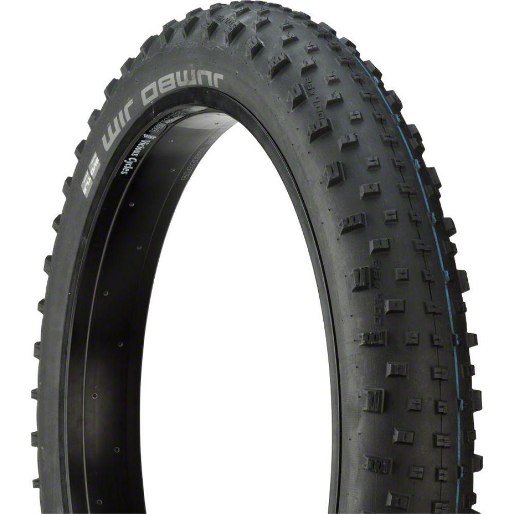 スクウァーブ Schwalbe メンズ 自転車【Jumbo Jim Snakeskin Evo Folding Bead Bike Tire】Black