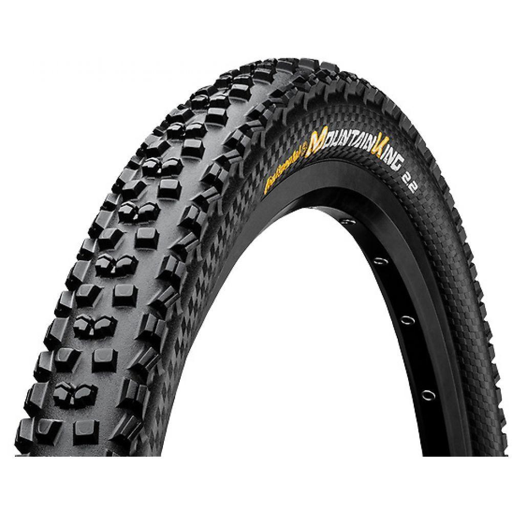 コンチネンタル Continental メンズ 自転車【Mountain King II 27.5in Fold Protection + Black Chili Bike Tire】Black