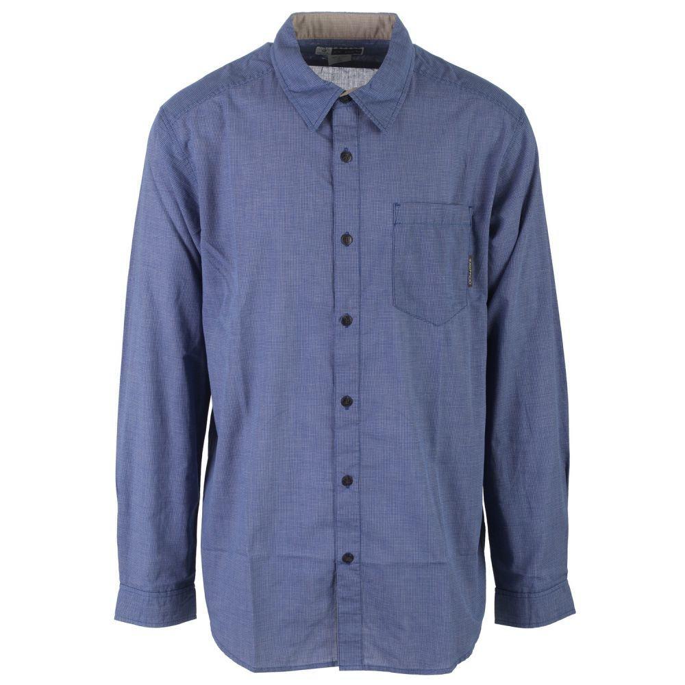 エクスオフィシオ Exofficio メンズ トップス【BugsAway Hakuna L/S Shirt】Prussian