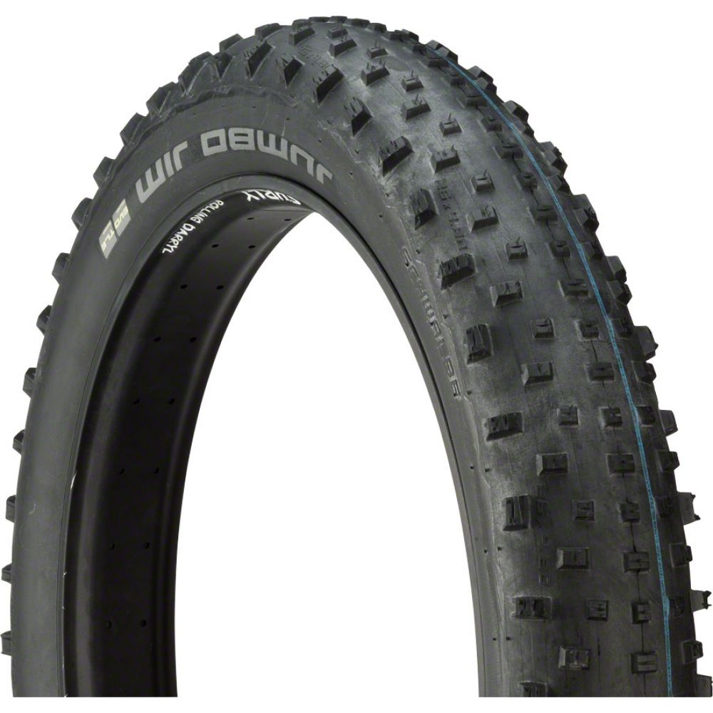 スクウァーブ Schwalbe メンズ 自転車【Jumbo Jim SnakeSkin Tubeless Addix SpeedGrip Bike Tire】Black