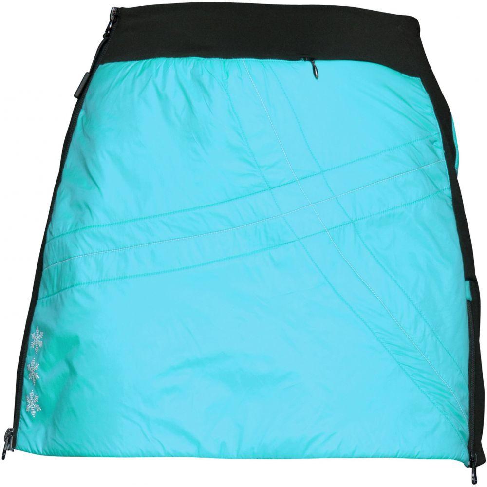 スウィックス Swix レディース スカート【Romsdal 2 Quilted Skirt】Tundra Blue