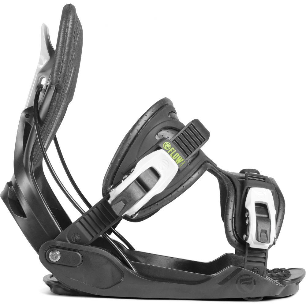 フロー Flow メンズ スキー・スノーボード ビンディング【Alpha Snowboard Bindings】Charcoal