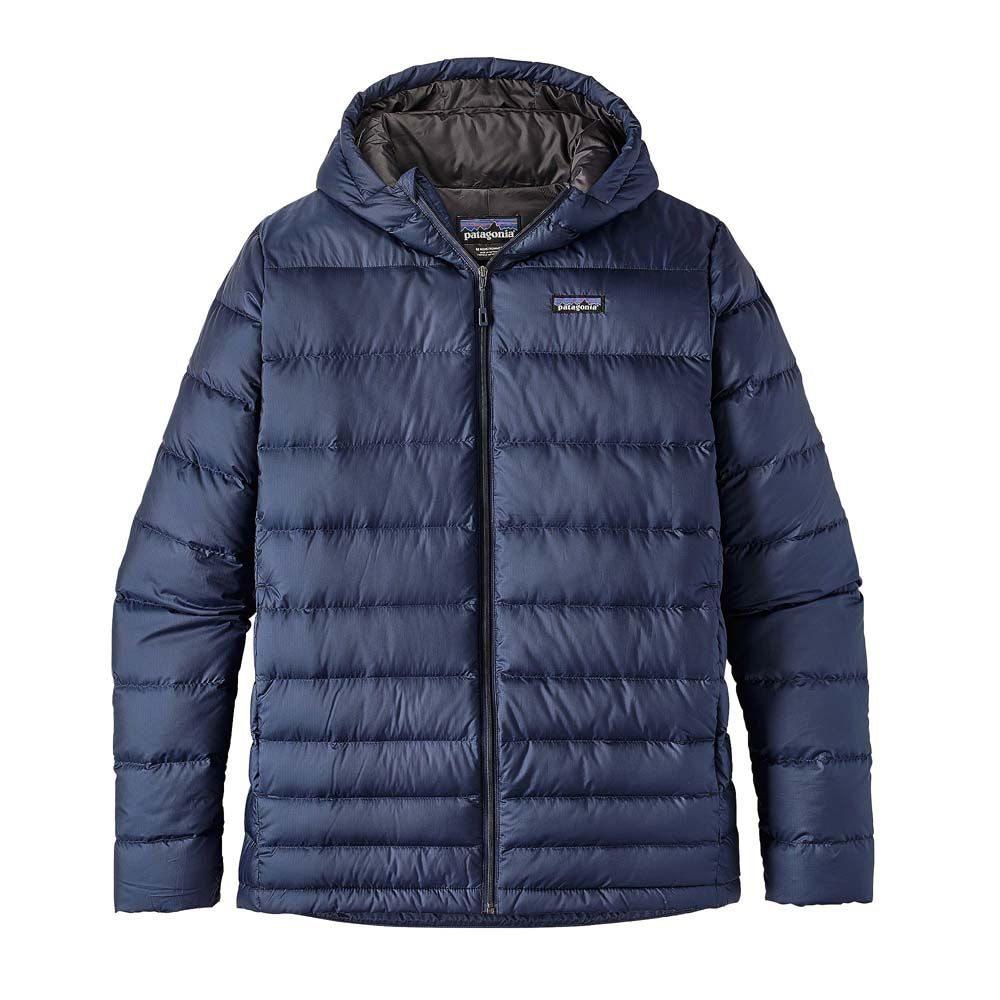 パタゴニア Patagonia メンズ アウター ダウン・中綿ジャケット【Hi-Loft Down Sweater Hoody Jacket】Navy Blue