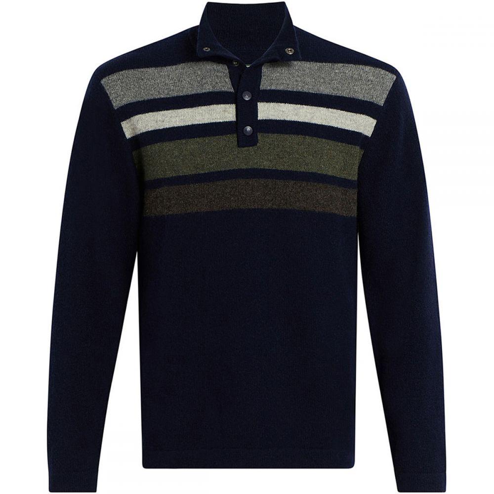 ウールリッチ Woolrich レディース トップス ニット・セーター【Half Snap Blanket Sweater】Navy