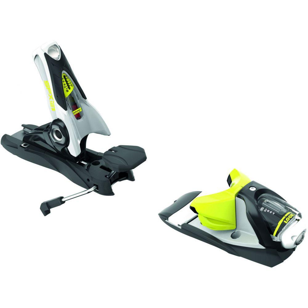 ルック Look レディース スキー・スノーボード ビンディング【SPX 12 Dual WTR Ski Bindings】Concrete/Yellow