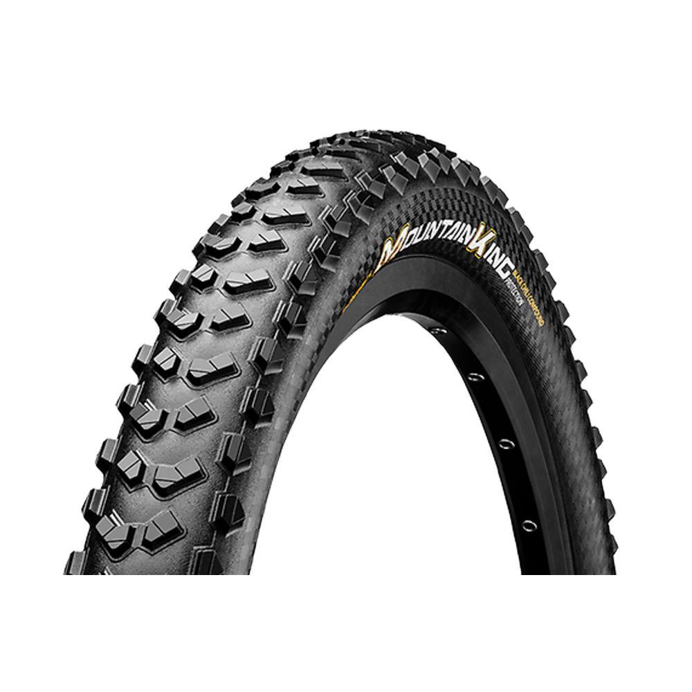 コンチネンタル Continental メンズ 自転車【Mountain King II Fold Protection + Black Chili Bike Tire Black】