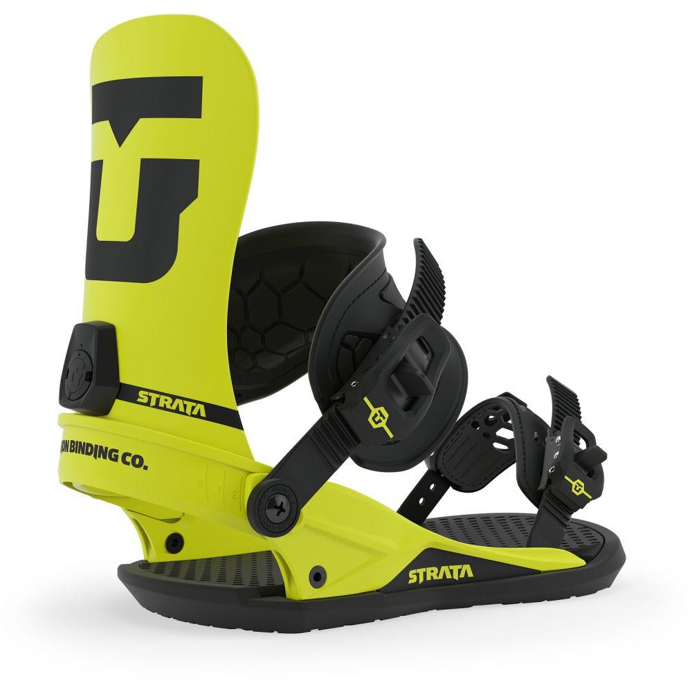 ユニオン Union メンズ スキー・スノーボード ビンディング【Strata Snowboard Bindings】Hazard Yellow