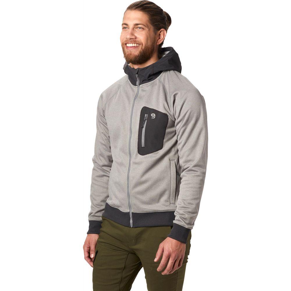 マウンテンハードウェア Mountain Hardwear メンズ トップス フリース【Norse Peak Full-Zip Hoody Fleece】Manta Grey