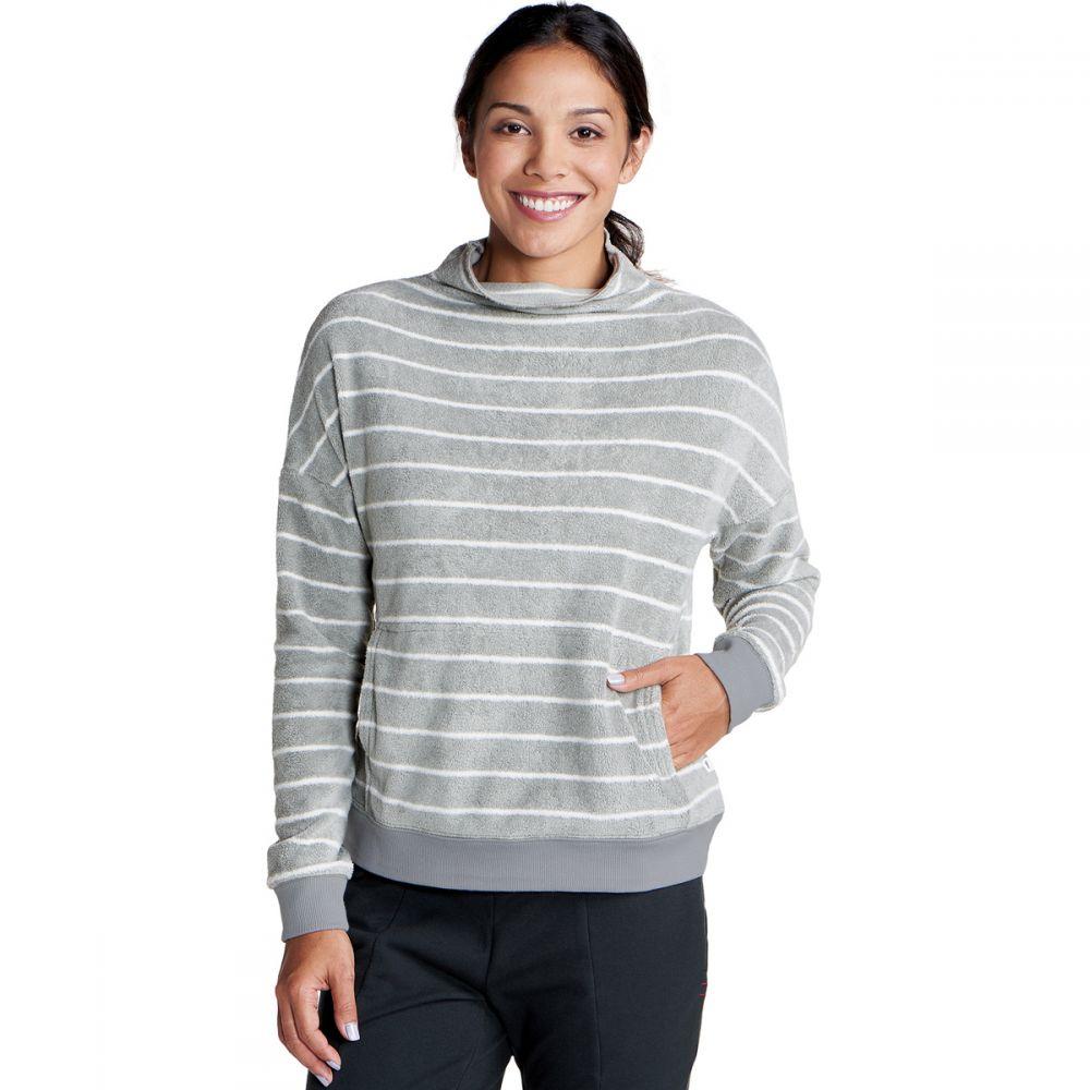 トードアンドコー Toad & Co レディース トップス ニット・セーター【Cashmoore Turtleneck Sweater】Light Ash Stripe