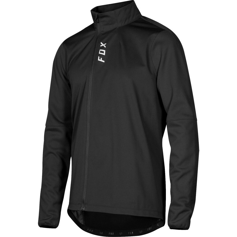 フォックス Fox メンズ 自転車 トップス【Attack Thermo Water Resistant Bike Jersey】Black