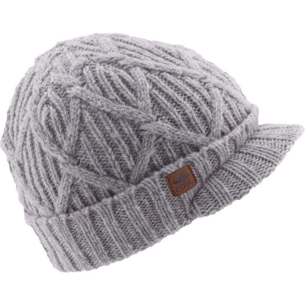 コール Coal メンズ 帽子 ニット【Yukon Brim Beanie】Grey