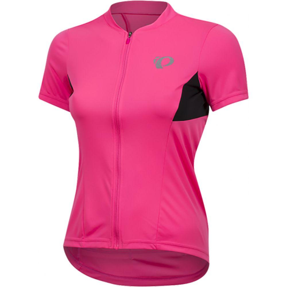 パールイズミ Pearl Izumi レディース 自転車 トップス【Select Pursuit Bike Jersey】Screaming Pink/Black