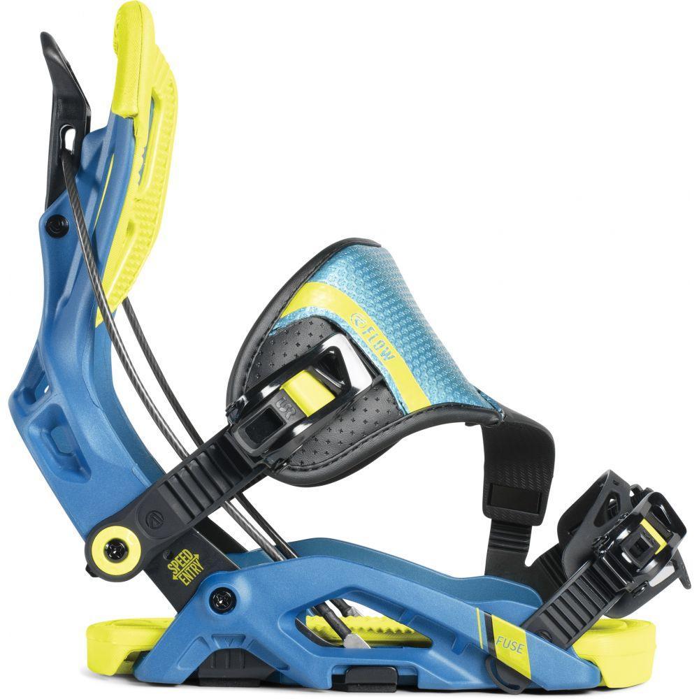 フロー Flow メンズ スキー・スノーボード ビンディング【Fuse Hybrid Snowboard Bindings】Neon
