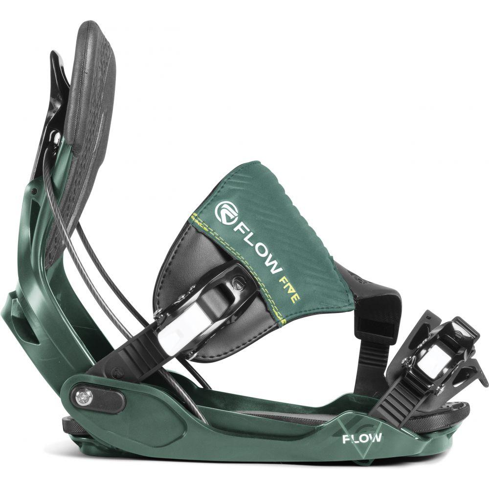 フロー Flow メンズ スキー・スノーボード ビンディング【Five Hybrid Snowboard Bindings】Teal