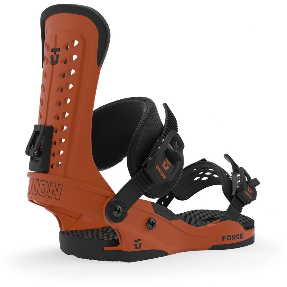 ユニオン Union メンズ スキー・スノーボード ビンディング【Force Snowboard Bindings】Burnt Orange