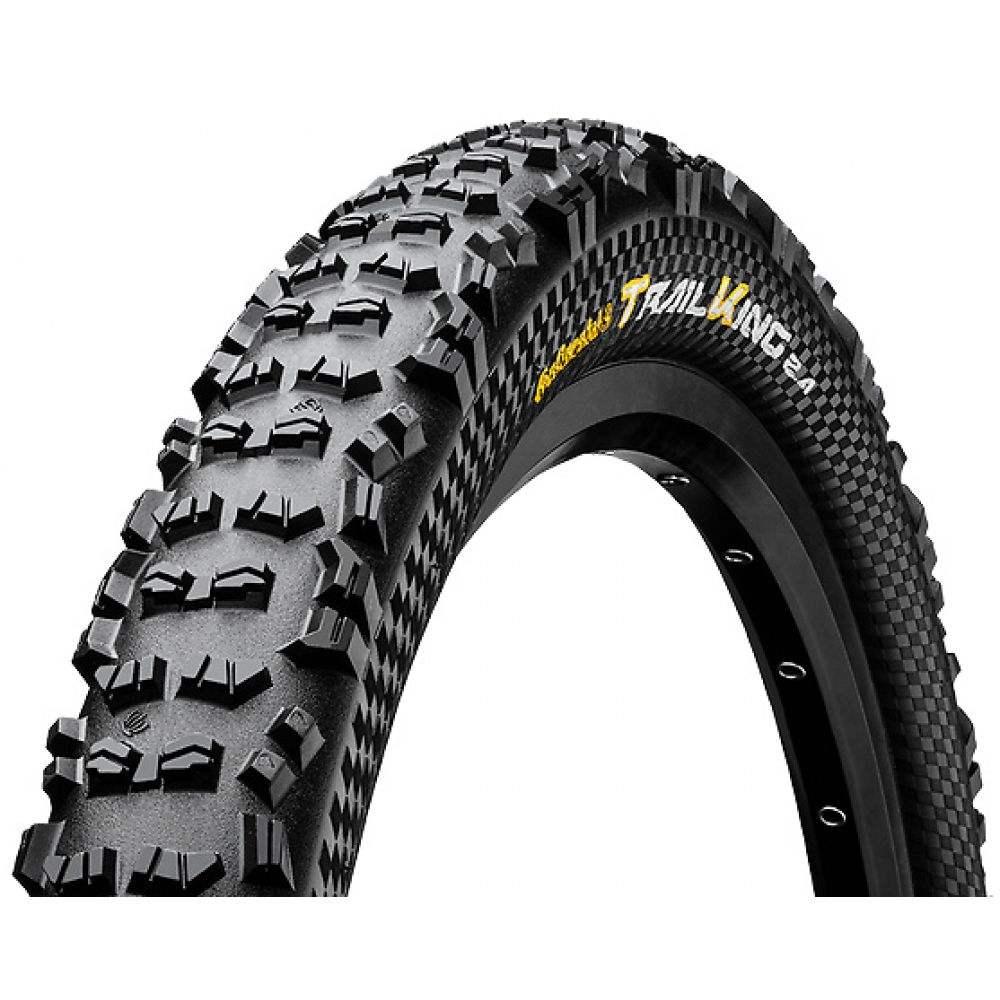 コンチネンタル Continental メンズ 自転車【Trail King 27.5in Fold Protection Apex + Black Chili Bike Tire】Black