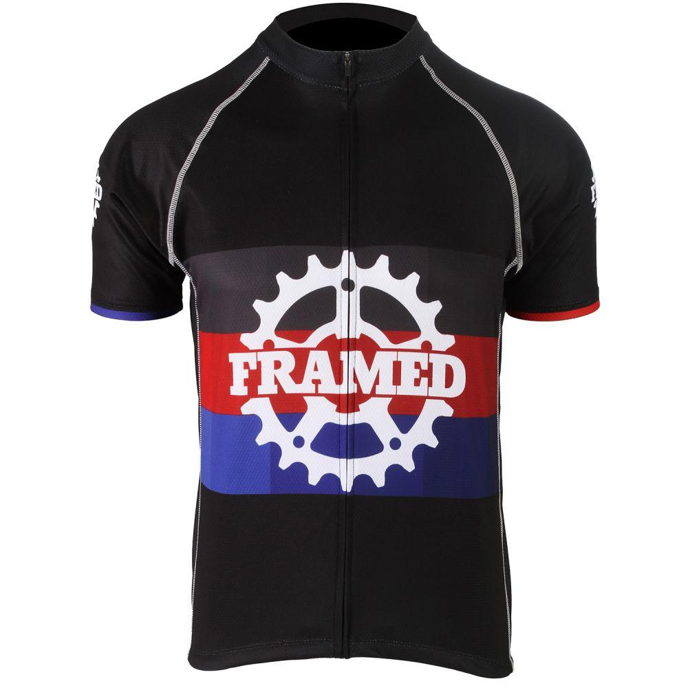 フレームド Framed メンズ 自転車 トップス【Prism Bike Jersey】Black