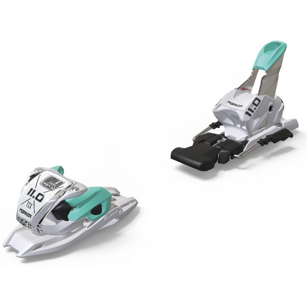 メーカー Marker レディース スキー・スノーボード ビンディング【11.0 TP Ski Bindings】White/Mint