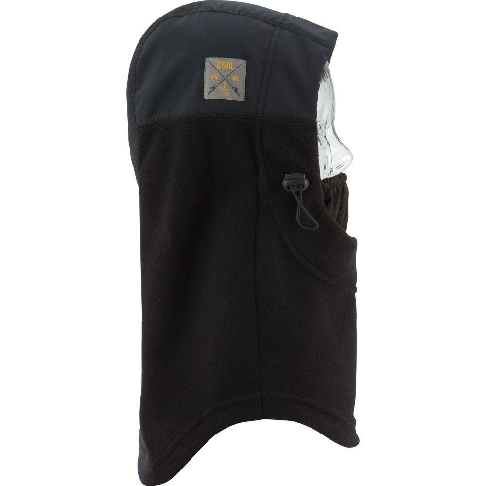 コール Coal メンズ 帽子【Fleece Hood SE Facemask】Black